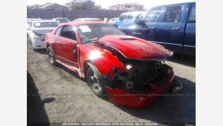 2001 Ford Mustang Coupe for sale 101126460