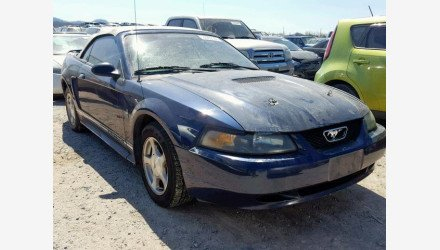 2001 Ford Mustang Convertible for sale 101126895