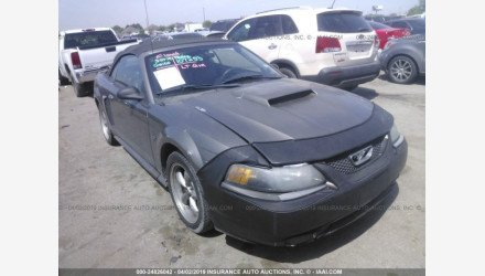 2001 Ford Mustang GT Convertible for sale 101127059