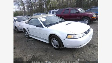 2001 Ford Mustang Convertible for sale 101127158