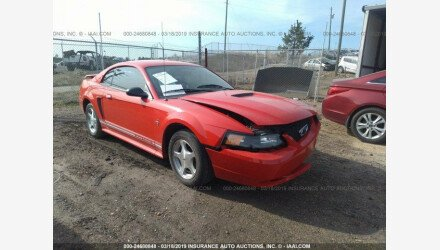 2001 Ford Mustang Coupe for sale 101127769