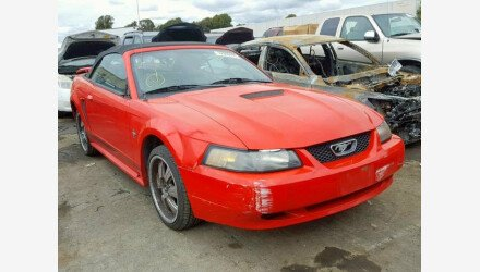 2001 Ford Mustang Convertible for sale 101128179