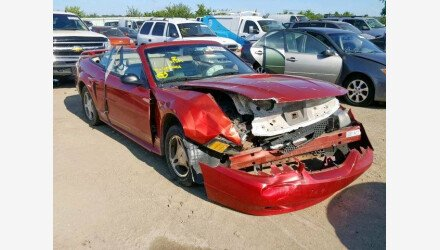 2001 Ford Mustang Convertible for sale 101206697