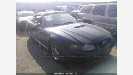 2001 Ford Mustang Convertible for sale 101211099