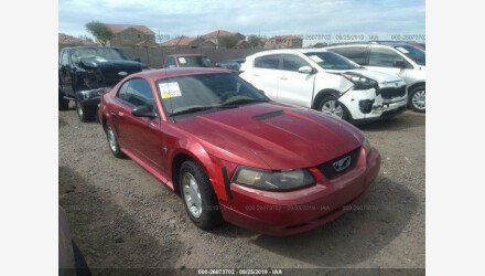 2001 Ford Mustang Coupe for sale 101219678