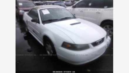 2001 Ford Mustang Convertible for sale 101219721