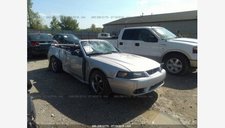 2001 Ford Mustang Convertible for sale 101219780