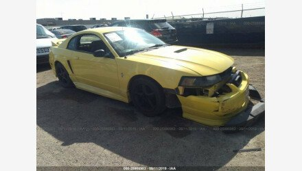 2001 Ford Mustang Coupe for sale 101221586