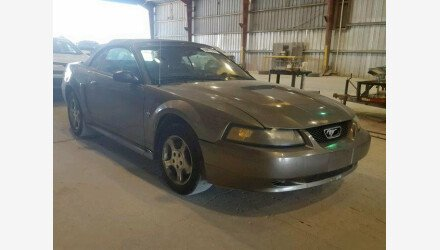 2001 Ford Mustang Convertible for sale 101222199