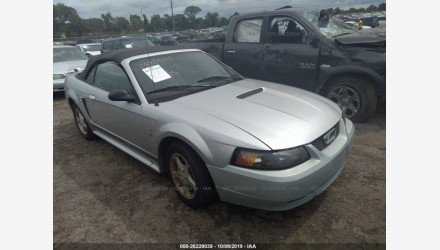 2001 Ford Mustang Convertible for sale 101222392