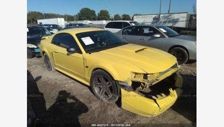 2001 Ford Mustang GT Coupe for sale 101226004