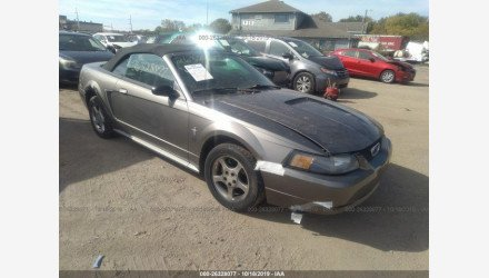 2001 Ford Mustang Convertible for sale 101226048
