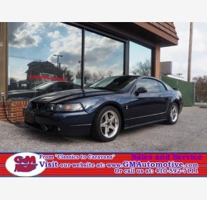 2001 Ford Mustang Cobra Coupe for sale 101293460