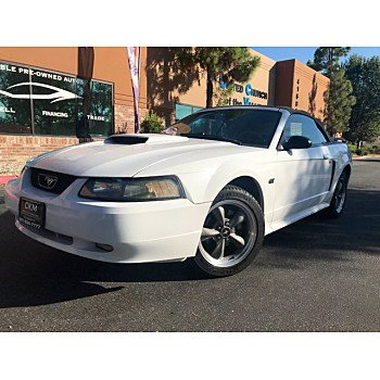 2001 Ford Mustang for sale 101407109