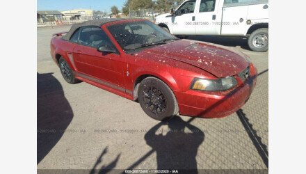 2001 Ford Mustang Convertible for sale 101408471