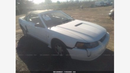 2001 Ford Mustang Convertible for sale 101410566