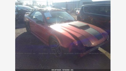 2001 Ford Mustang GT Convertible for sale 101410762