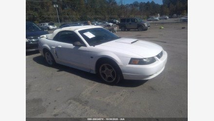 2001 Ford Mustang GT Convertible for sale 101413969