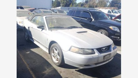 2001 Ford Mustang Convertible for sale 101415537