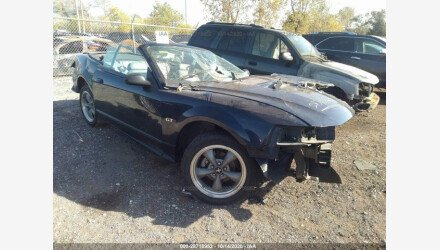 2001 Ford Mustang GT Convertible for sale 101416319