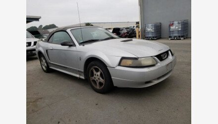 2001 Ford Mustang Convertible for sale 101461611