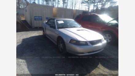 2001 Ford Mustang Convertible for sale 101464538