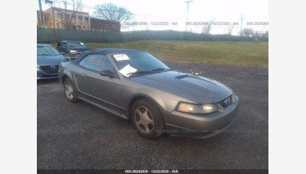 2001 Ford Mustang Convertible for sale 101464603