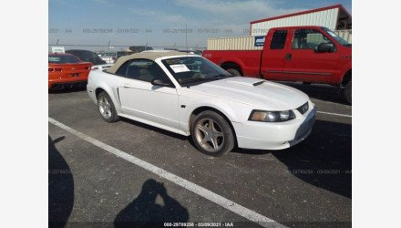2001 Ford Mustang GT Convertible for sale 101487708