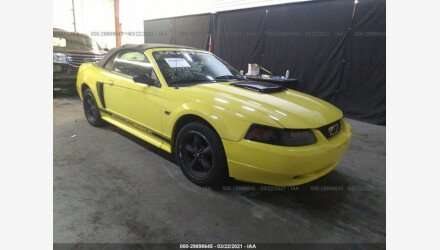 2001 Ford Mustang GT Convertible for sale 101491936