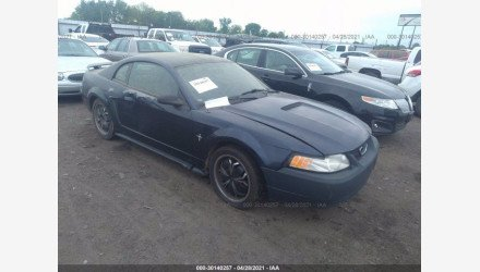 2001 Ford Mustang Coupe for sale 101501857