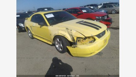 2001 Ford Mustang Coupe for sale 101502645