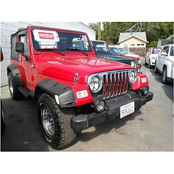 2001 Jeep Wrangler 4WD Sport for sale 101095089