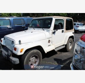 2001 Jeep Wrangler for sale 101346417