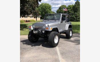2001 Jeep Wrangler for sale 101375240