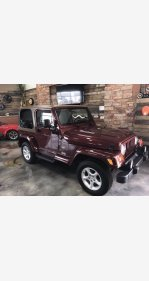 2001 Jeep Wrangler for sale 101386228