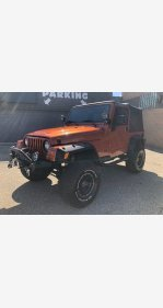 2001 Jeep Wrangler for sale 101392162