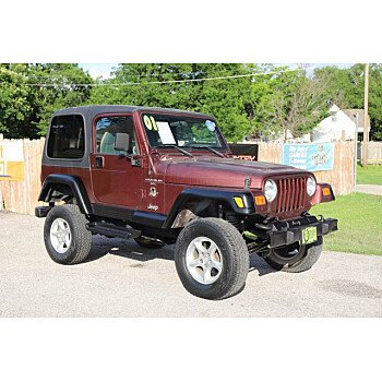 2001 Jeep Wrangler for sale 101496513