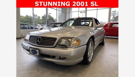 2001 Mercedes-Benz SL500 for sale 101412130