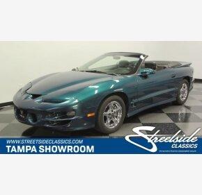 2001 Pontiac Firebird for sale 100996803