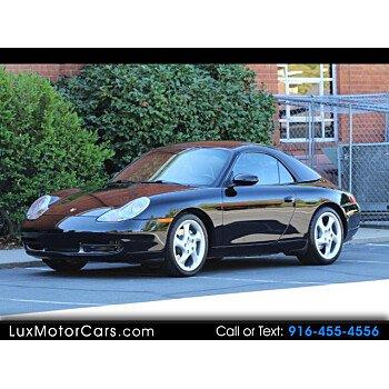 2001 Porsche 911 Cabriolet for sale 101210966