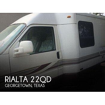 2001 Winnebago Rialta for sale 300266662
