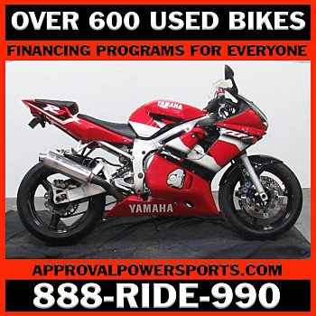 2001 Yamaha YZF-R6 for sale 201054625