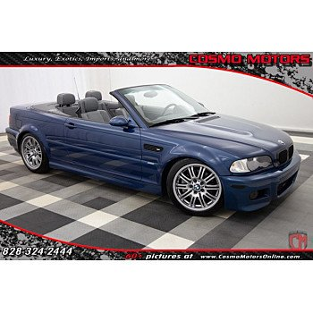 2002 BMW M3 Convertible for sale 101304230