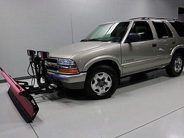 2002 Chevrolet Blazer 4WD 4-Door for sale 101236791