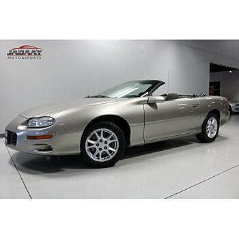 2002 Chevrolet Camaro Convertible for sale 101063525