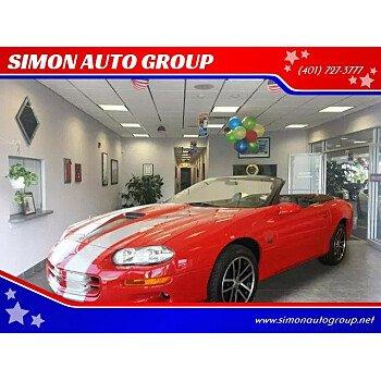 2002 Chevrolet Camaro Z28 Convertible for sale 101077440