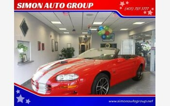 2002 Chevrolet Camaro Z28 Convertible for sale 101077440