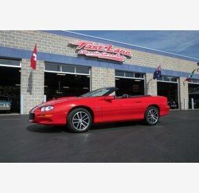 2002 Chevrolet Camaro Z28 Convertible for sale 101162043