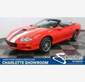 2002 Chevrolet Camaro for sale 101222038