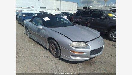 2002 Chevrolet Camaro Convertible for sale 101230326